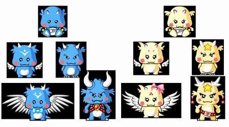 根据玩家的说法,天使豆包龙有美丽的翅膀可以飞翔,而恶魔豆包龙给人一