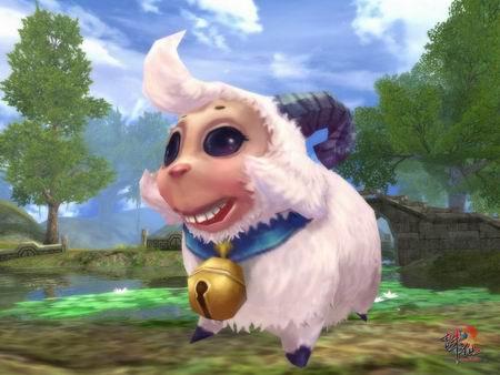 可爱小绵羊来袭!