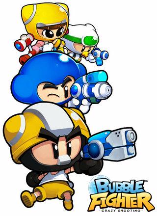 其风格集成了泡泡系列一贯的可爱卡通型.