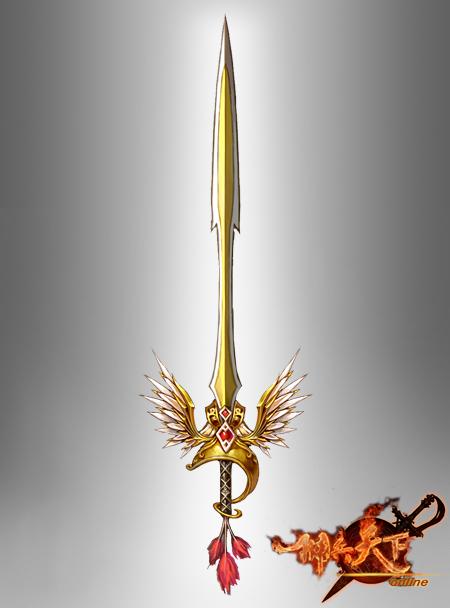 天空之剑原画
