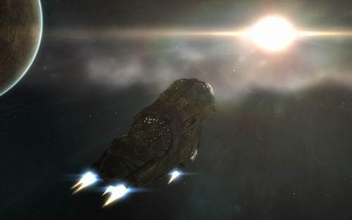 先睹为快!《EVE:霸权》新式战舰首飞