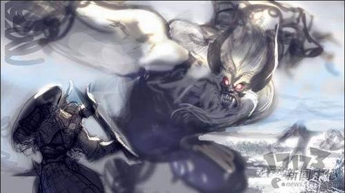 动作mmorpg《z奇兵》原画公开 大雪怪登场