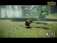 《怪物猎人OL》四大武器动作展示