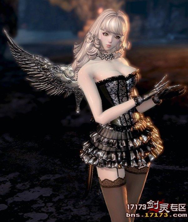美若天仙的空姐下载_天族不愧是美若天仙剑灵性感时装黑仙子17173剑灵