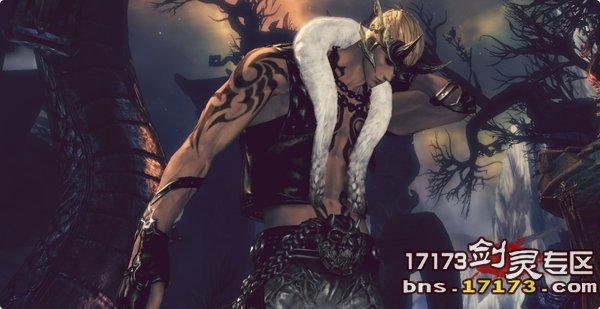 韩服剑灵龙男黑龙时装