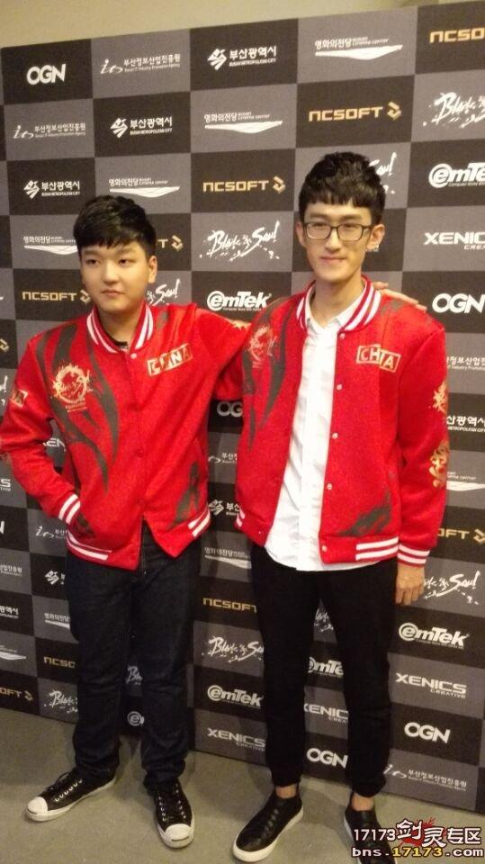 今日剑灵韩国国际全球赛 表演赛现场拍摄