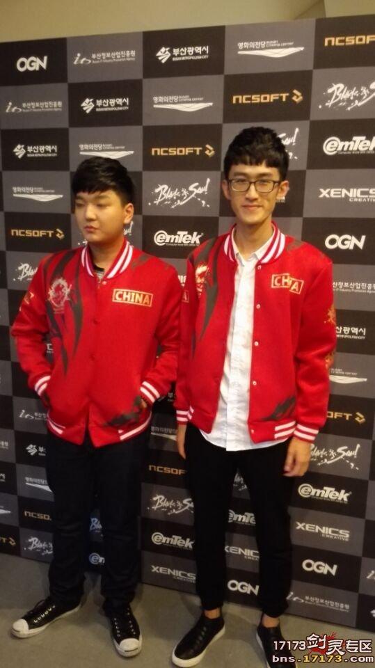 中国选手专访 感觉韩国的比赛像运动会