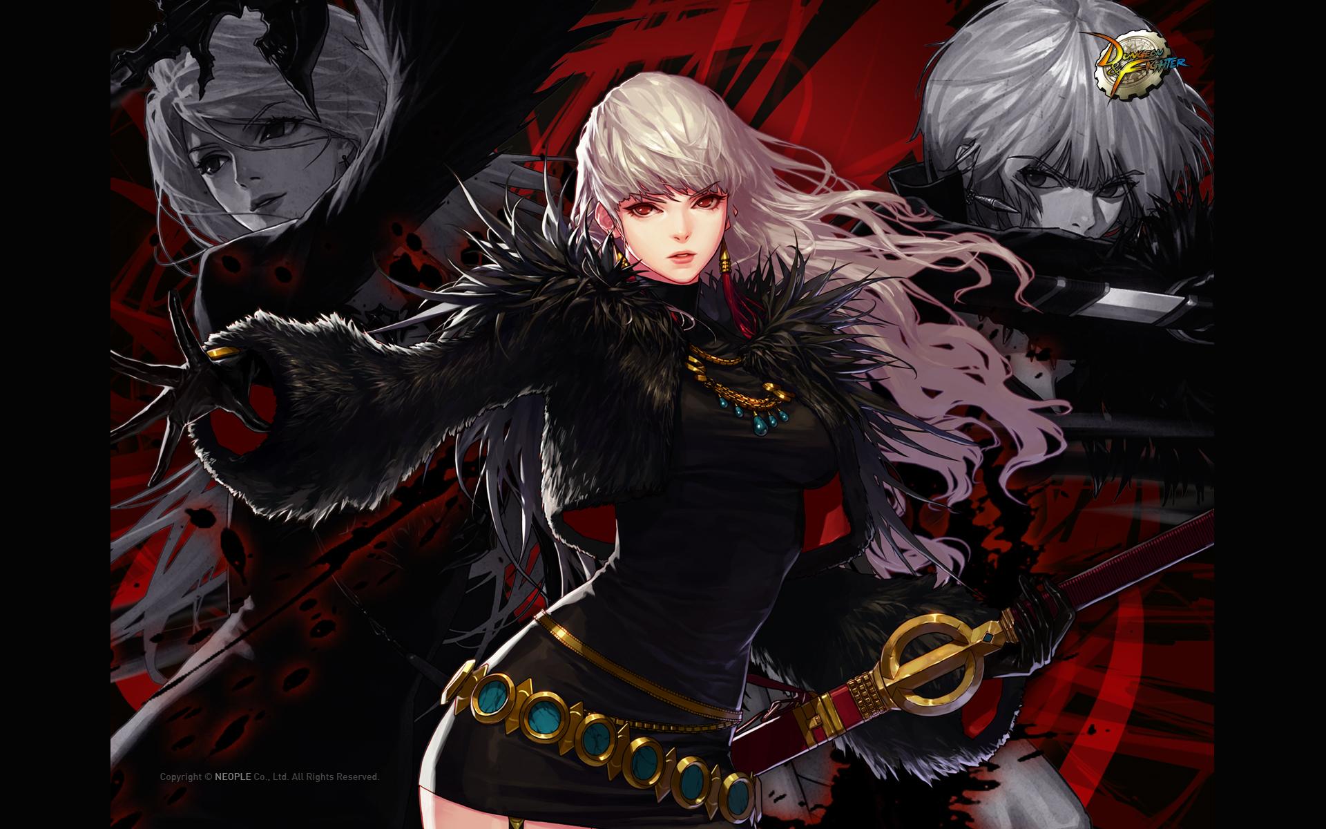 dnf女鬼剑背景故事 我的剑,掌握帝国的命运