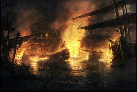DOTA2大海战武器的一点攻略心得