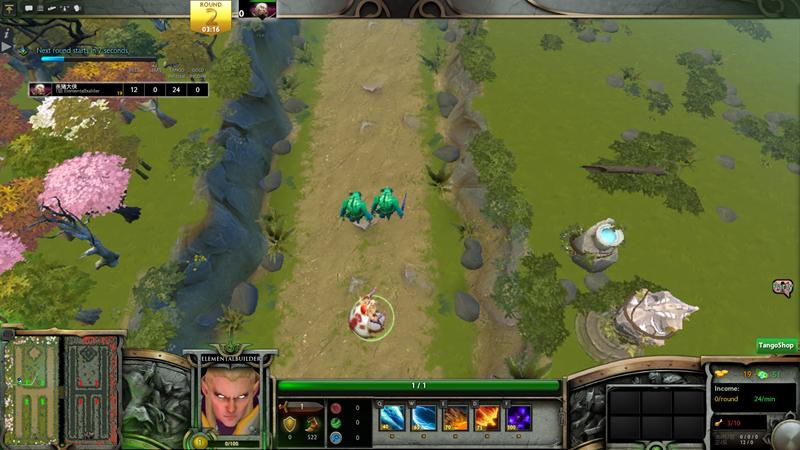 继承了war3的人口,金币,木头系统,让玩家间的博弈更加的精彩    六