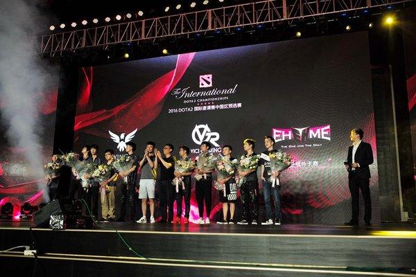 2016国际邀请赛中国区预选赛完美落幕 八月开启正赛