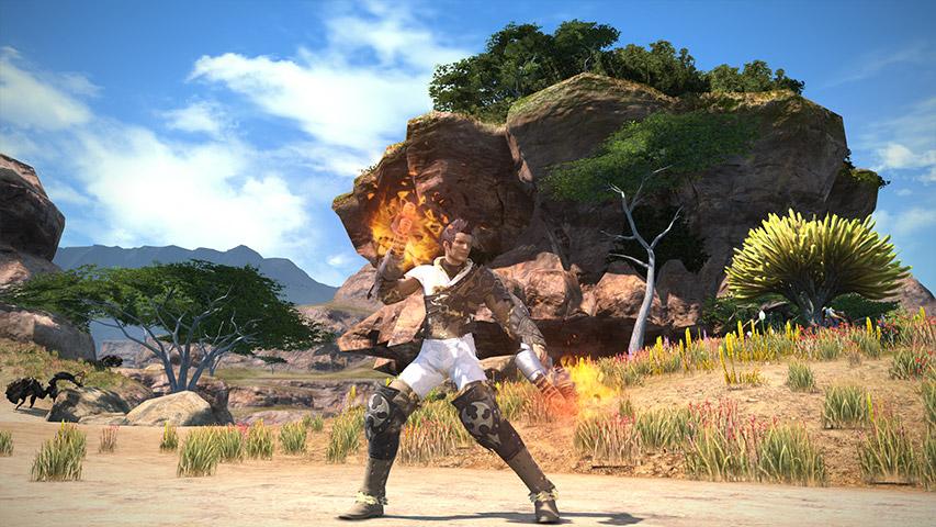 最终幻想14职业资料:格斗家