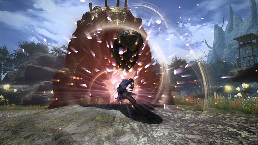最终幻想14职业资料:枪术师