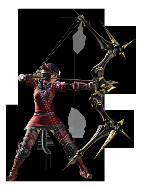 最终幻想14职业资料:弓箭手