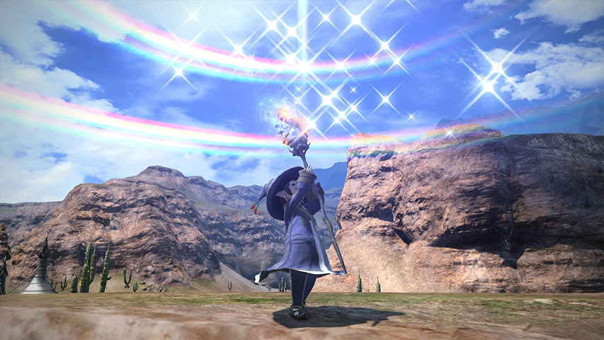 最终幻想14职业资料:幻术师