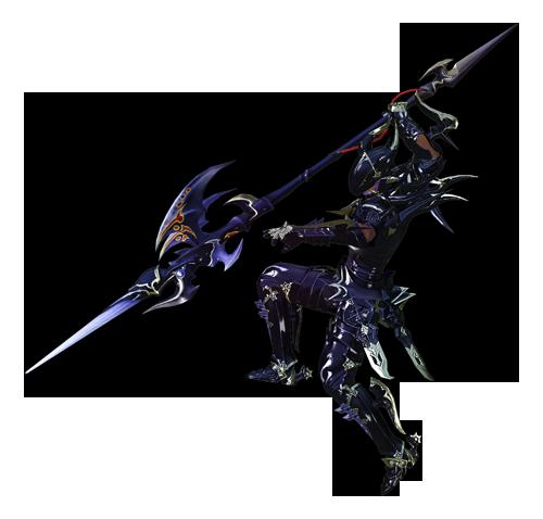 最终幻想14职业资料:特职 - 龙骑士