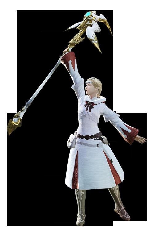 最终幻想14职业资料:特职 - 白魔法师