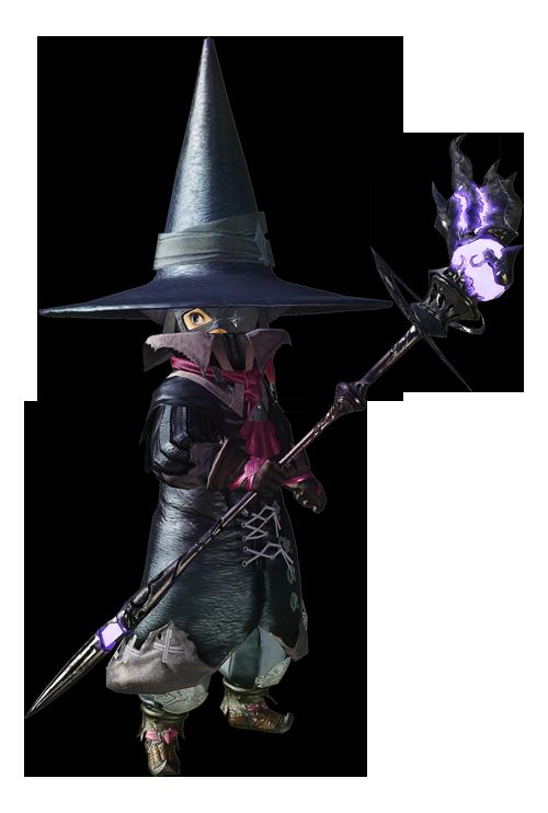 最终幻想14职业资料:特职 - 黑魔法师