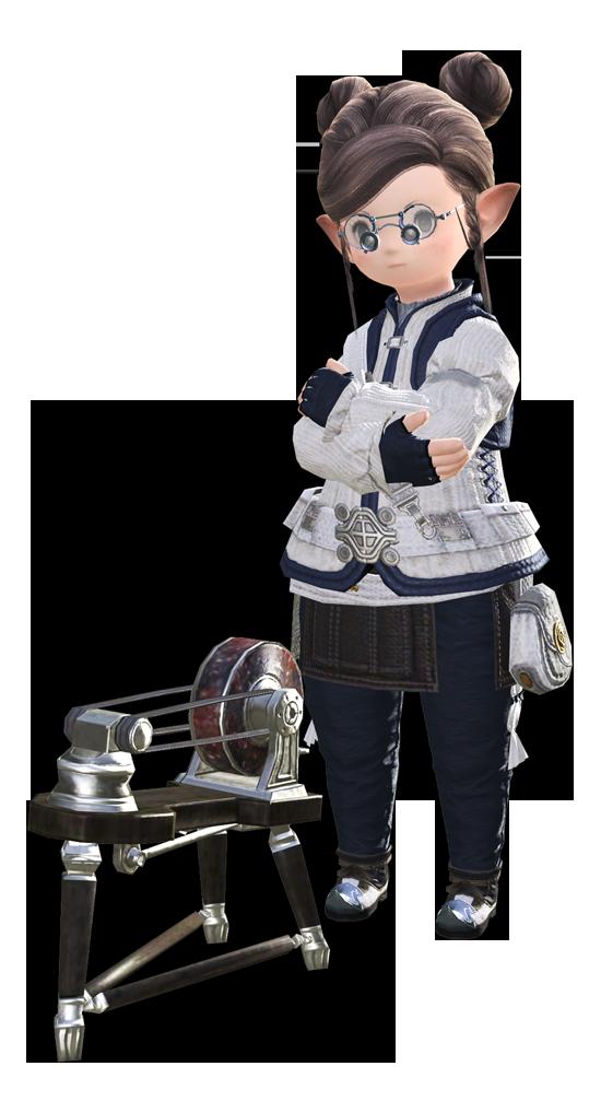 最终幻想14职业资料:能工巧匠 - 雕金匠