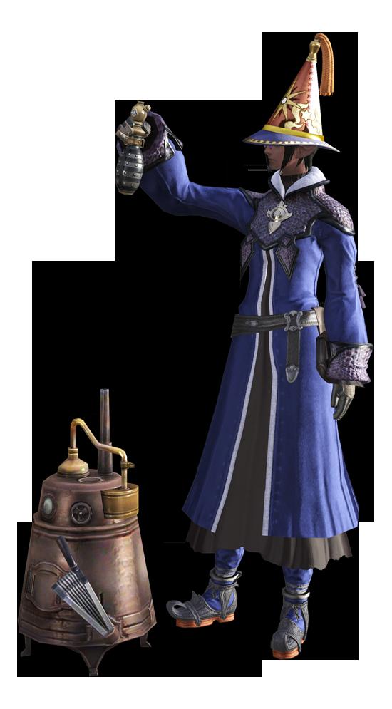 最终幻想14职业资料:能工巧匠 - 炼金术士