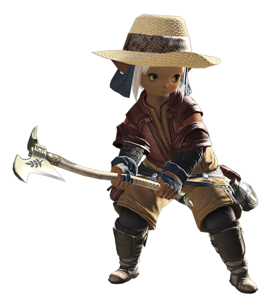 最终幻想14职业资料:大地使者 - 园艺工