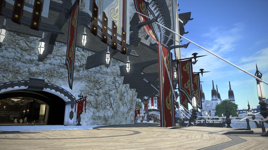 最终幻想14资料之地域和城市:利姆萨・罗敏萨