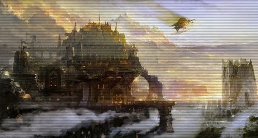 最终幻想14资料之地域和城市:阿拉米格