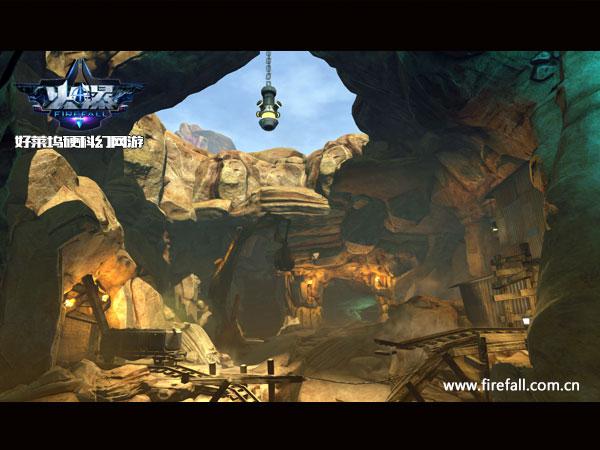 向高林地进发 《火瀑》新版本开放全新地图