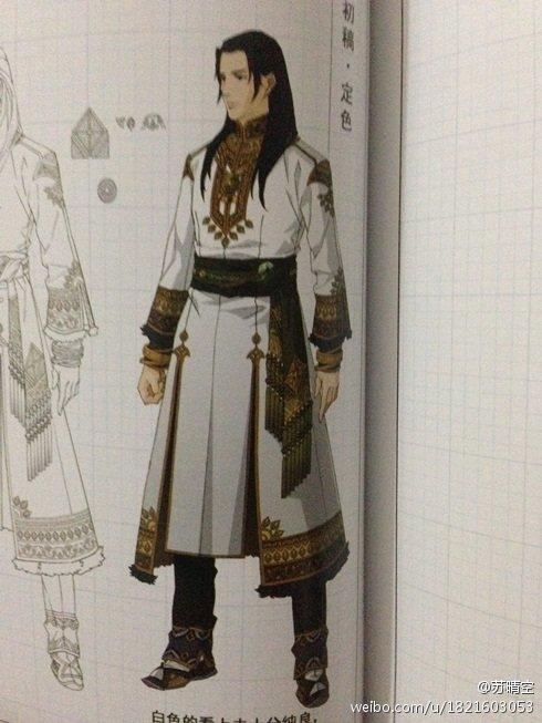 《古剑奇谭2》MOD 夏夷则mod荒漠贵族白