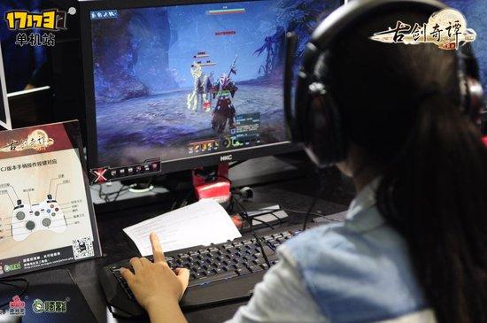 《古剑奇谭OL》CJ玩家体验 女斩风角色曝光