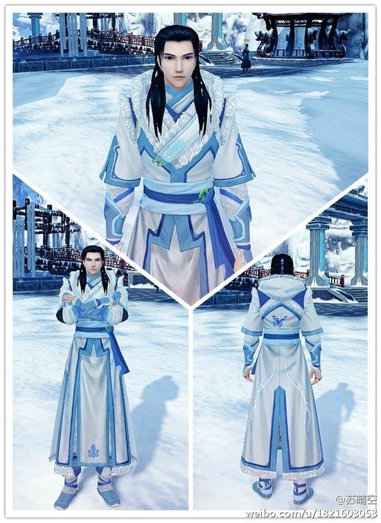 《古剑奇谭2》MOD 夏夷则外装mod冰蝴蝶