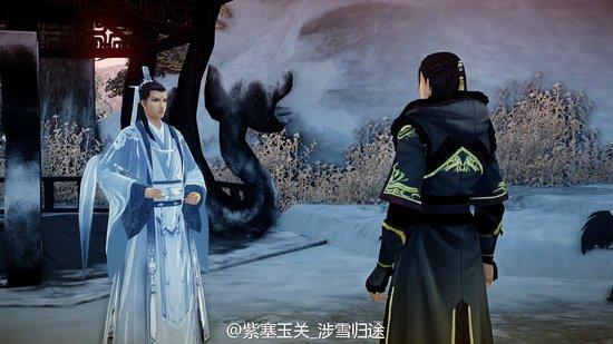 《古剑奇谭2》MOD 夷则黑色皇子装mod