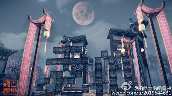 城会玩 《古剑OL》玩家在游戏中大玩《我的世界》