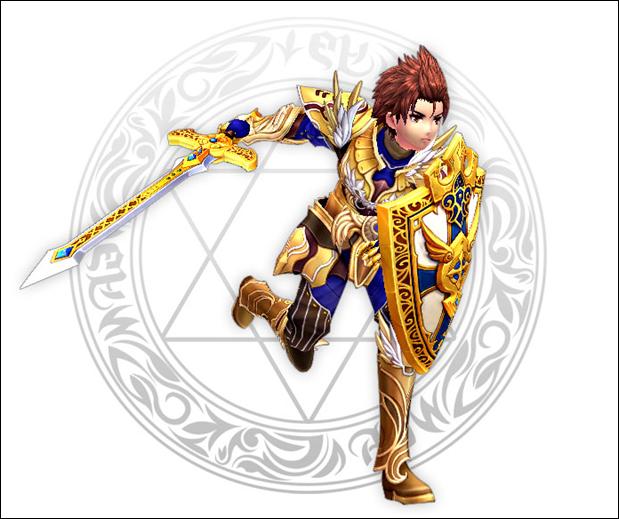 幻想神域职业技能--剑盾