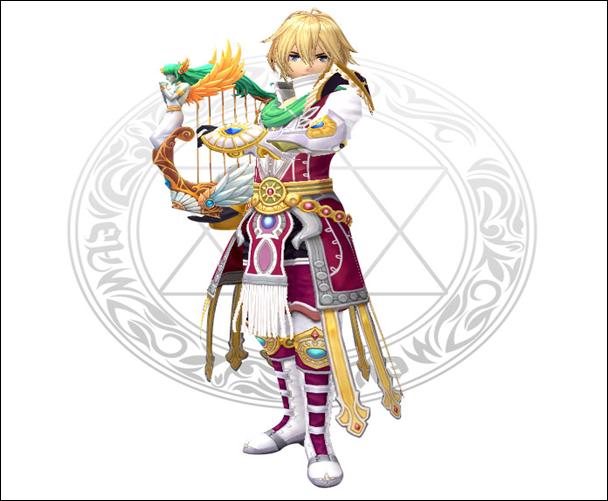 幻想神域职业技能--小竖琴