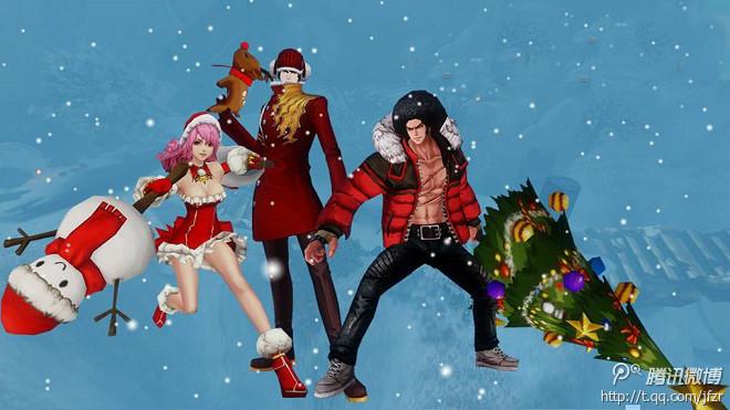 韩服疾风之刃圣诞节超萌新时装一览