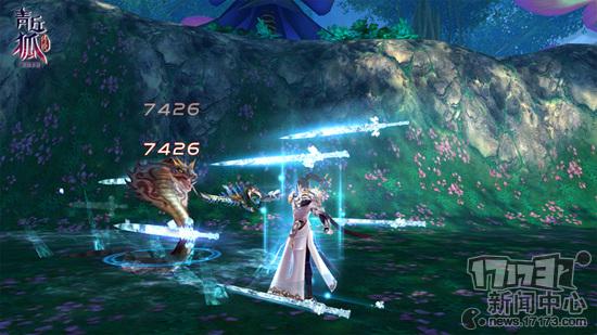 《青丘狐传说》手游—boss 无限制同屏厮杀 七雄争霸打响 七雄争霸是图片