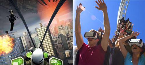 三星与全球最大游乐园合作 推VR过山车体验