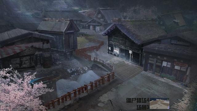 櫻花武士 逆戰12月新版本場景高清原畫