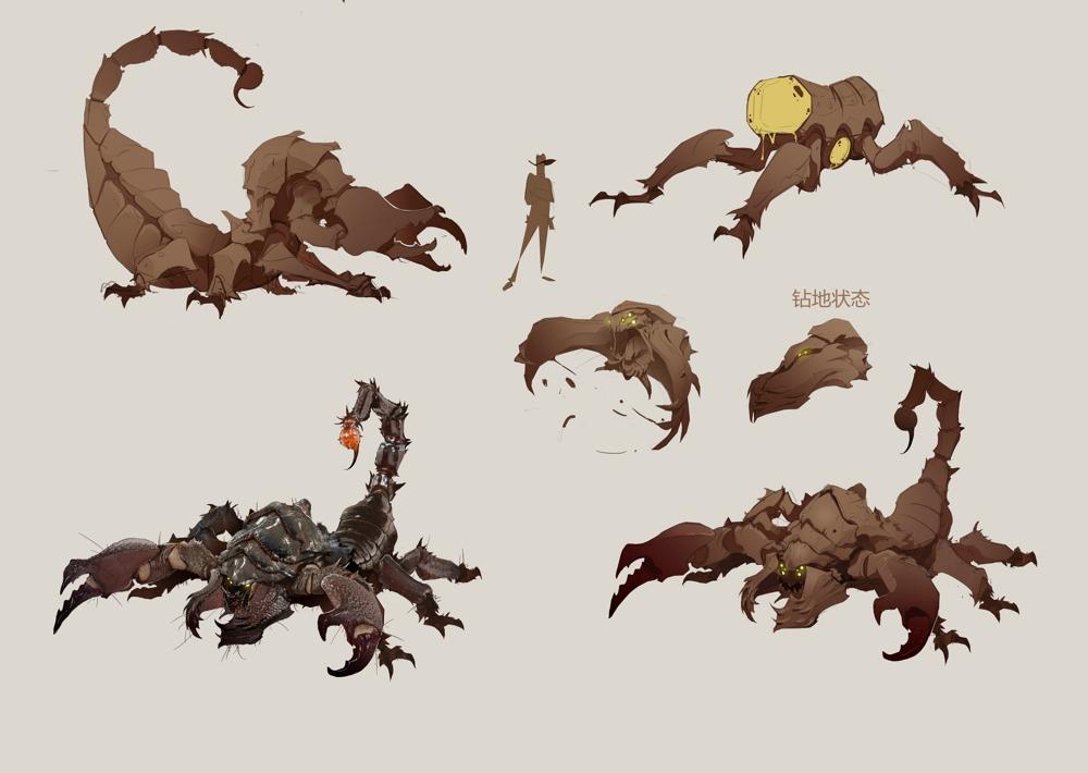 巨尸眼镜蛇:被封印的古代巨蛇复生,潜伏在沙漠深渊伺机而动.