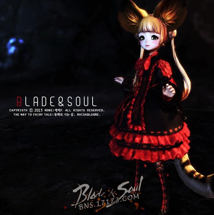 花田里的小精灵 灵女红白洛丽塔服装展示