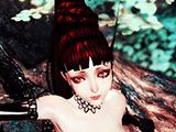 妖异的血色螺旋双瞳 致命紫罗兰龙女诱惑