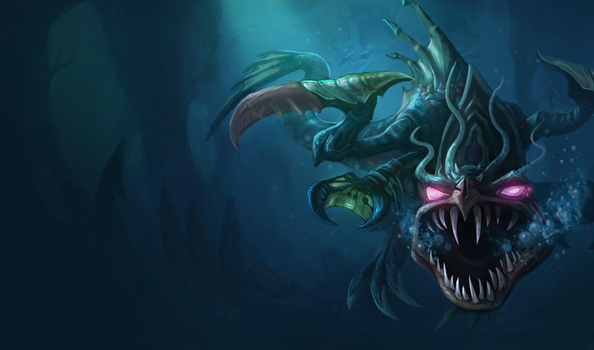 深海一号 卡萨丁   深海怪鱼 克格莫   深渊恐惧 锤石   珊瑚礁 墨菲斯