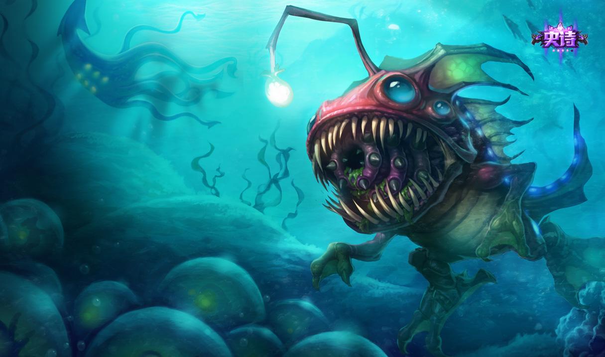 古拉加斯   深海一号 卡萨丁   深海怪鱼 克格莫