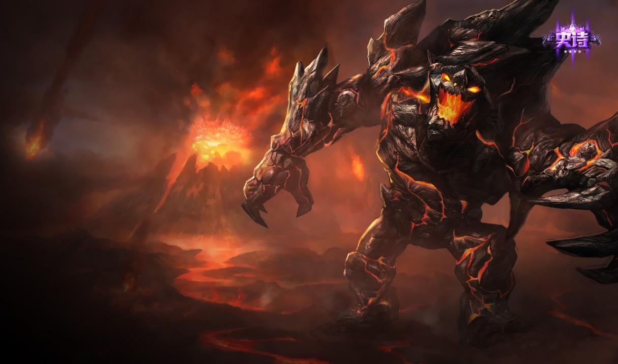 恶魔之刃 泰达米尔-简直酷炫 英雄联盟六杀必备小伙伴开黑皮肤