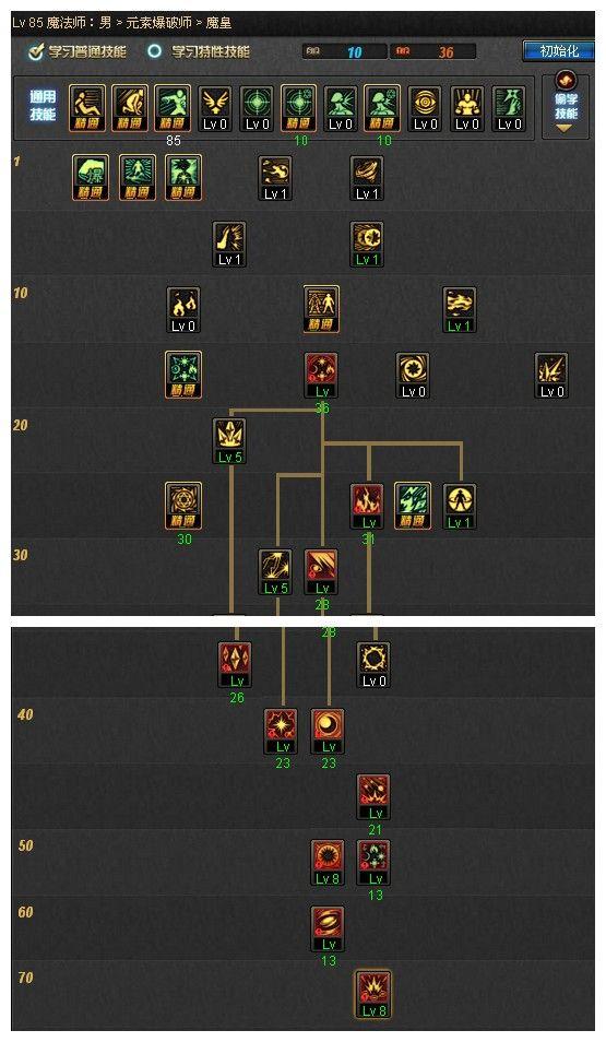 > 男法师 > 魔皇终极解析 玩家深度解析魔皇刷图技能加点   魔皇60ex