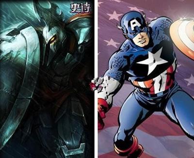 联盟 英雄 超级英雄/十大超级英雄乱入英雄联盟 正义一定会胜利