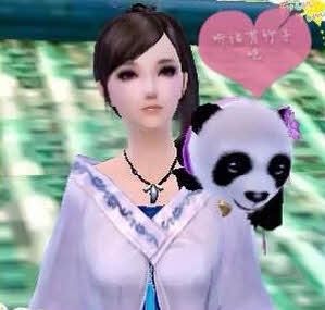 卖萌小熊猫团团和圆圆出场 玩家手绘萌图