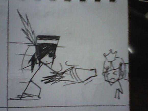 玩家纯手绘dnf小漫画 神与地下城小故事第23集
