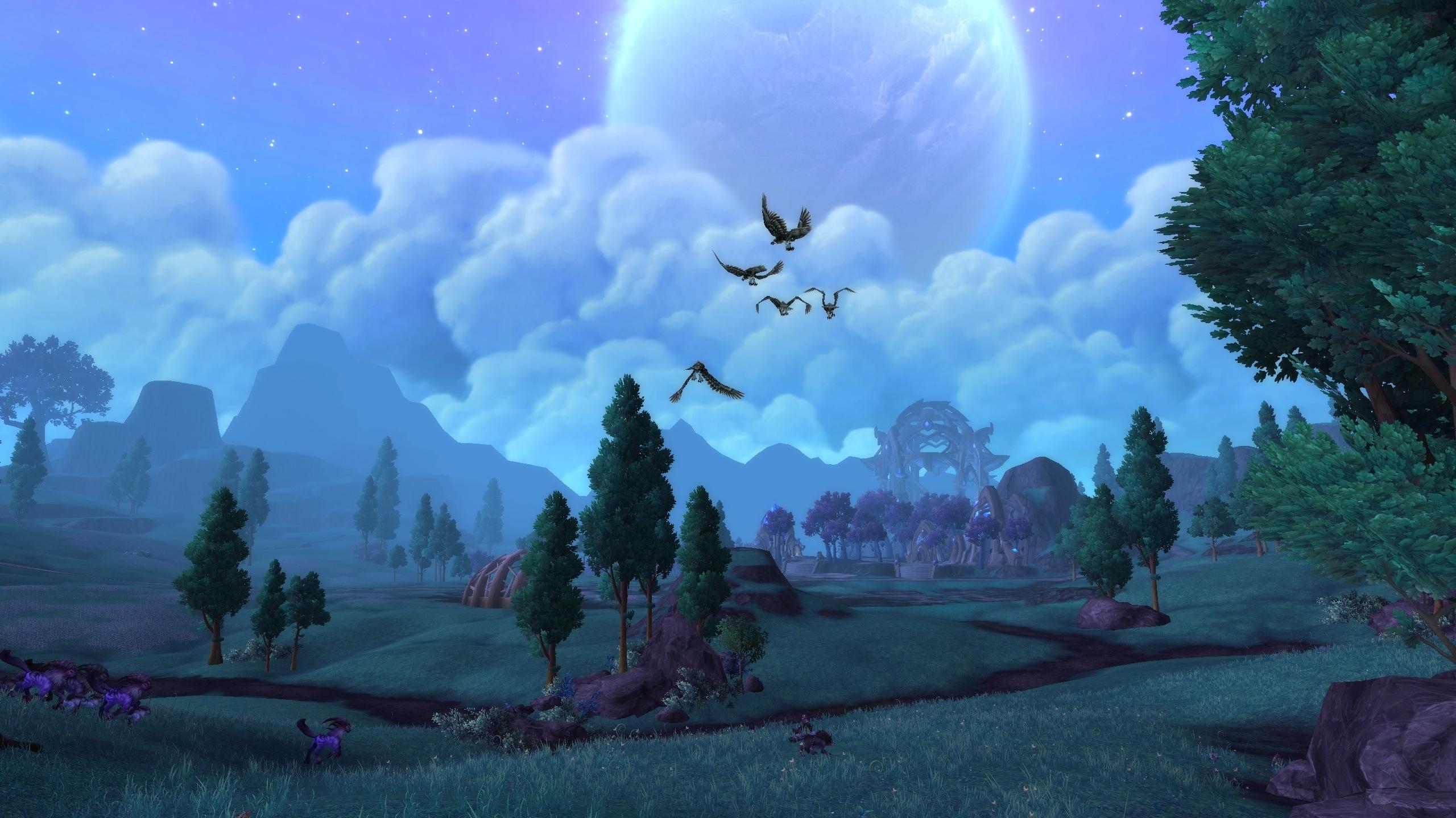 德拉诺之王:影月谷的风景呀美如画